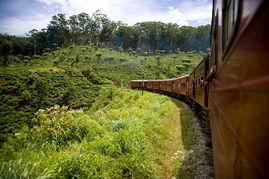 上天下海--斯里兰卡火车之旅 乘坐火车,穿越时空,回到旅游的黄金时...
