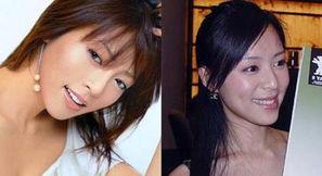 美容 亚洲女明星跨国大 撞脸