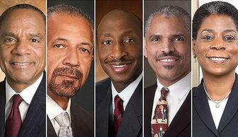...强只有5个黑人CEO 图
