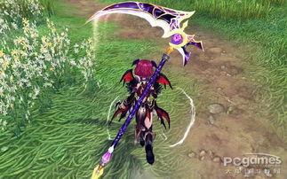 幻想神域梦魇魔镰外观展示 幻想神域资讯 太平洋游戏网