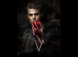 吸血鬼日记 公布宣传新照 血腥与性感并存