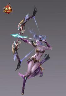 穿羽箭破苍空 源火猎手技能光效展示