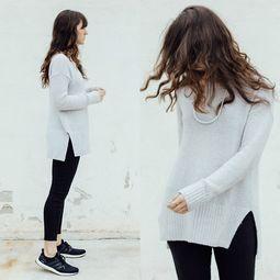 今年流行的微喇牛仔裤微胖女生也可以多穿,选择微喇较小的款式更显...