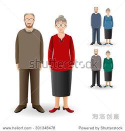 完整的画像很帅成人女子站在高级的人 家庭 现实的形象 全身女人和男...