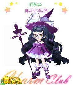 奥比岛魔法少女奇幻装图鉴