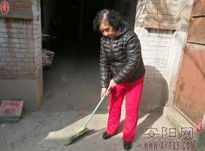 韩秀娥 坚持打扫楼院二十余年