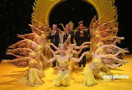 """享誉海内外的中国""""千手观音""""舞蹈莅泰演出引轰动.    摄 -千手观音..."""
