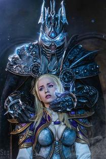 魔兽精品COS推荐 吉安娜与阿尔萨斯之恋