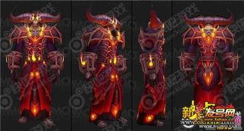 魔兽7.2术士t20套装外观及特效一览