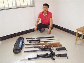 """撸一管-4支气枪及一批气枪的""""燕尾""""型材、精密管、瞄准镜和铅弹,家里简..."""