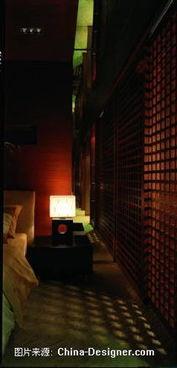 平面结构图-缇香名苑样板房 PRA环境艺术设计工作室的设计师家园 ...