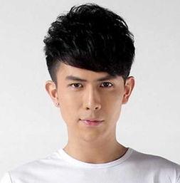 平刘海发型图片