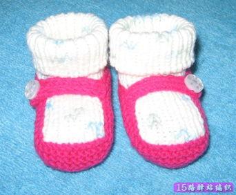 宝宝鞋的编织方法,宝宝毛线鞋编织方法 N多款