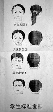 重庆一初中班规雷人 刘海过眉罚买拖把