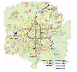 武汉地铁2号线和4号线换乘方法