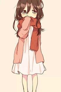 日系动漫卖萌表情包 动漫萌妹子表情包 阿了个喵 可人图片