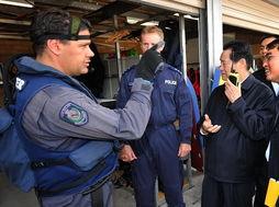 ...南威尔士州警察特别行动指挥中心