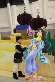 YO哉悠哉长大了 程YOYO图片记录 不值票价的公主嘉年华P714