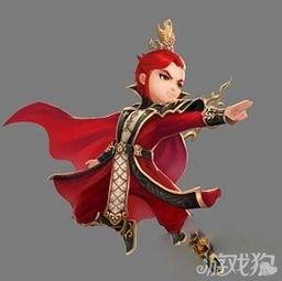 仙骨柔情梦幻帝尊-皇帝头冠-射雕英雄传3D手游风骚大叔五人组齐上阵