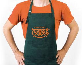 ...饭颗多快餐品牌LOGO设计