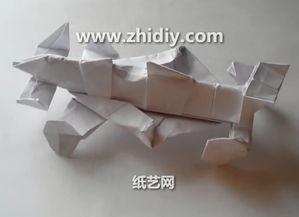 折纸F1赛车手工制作视频教程