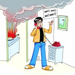 家庭火灾逃生法
