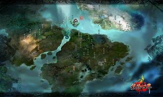 龙腾世界 游戏地图