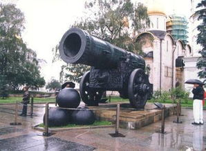 克里姆林宫的 炮王 钟王 及珍宝馆