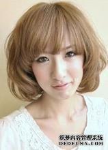 发型设计 时尚不同女生的发型设计大全