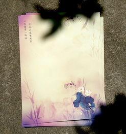 ... 怀旧复古创意情书信笺 中国风古风个性唯美