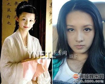 华人影视美女今昔对比 天后王菲变 女神 图