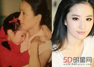 刘亦菲妈妈53似仙女 刘亦菲妈妈年轻照片 2