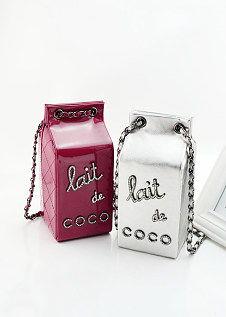 2014韩版迷你包欧美街拍款镶钻 牛奶盒潮包 手机包SHOPPING 逛街小...
