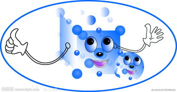 卡通盐粒子圆图片