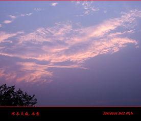 最美不过夕阳红 一组夕阳的照片 二 .