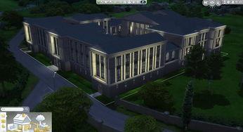 模拟人生4欧洲古典宫殿建筑MOD下载 模拟人生4房屋MOD下载