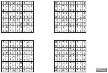 数独玩法,简单题目解法解析3