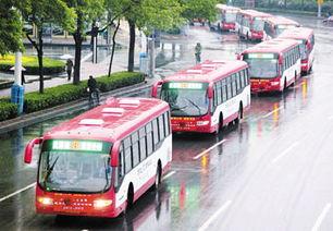 ...动巡游车行驶在中环线上. 王 津   摄-天津公交今百岁