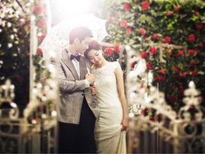 不同的场景打造不同的新娘婚纱照风格
