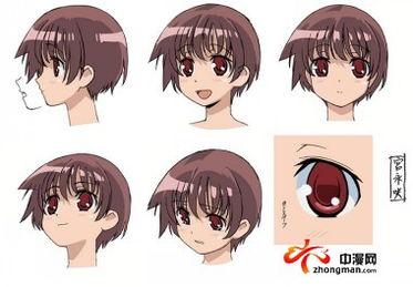 天才麻将少女 DSaki 最新彩色人设