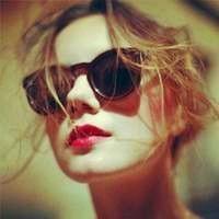 中长直发欧美女生头像霸气 清纯可人超有范的-时尚女神欧美美女头像...