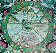 藏传佛教的《六道轮回图》-解开人类生死轮回之谜