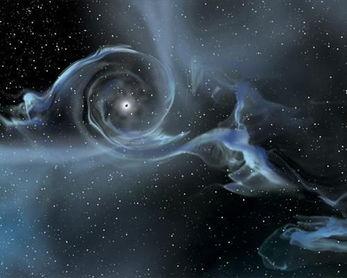 黑洞会吹 宇宙风 强度远超预期或波及宿主星系