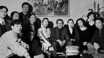 ...文学史讲课结业聚会,左起:胡承华、章学林(