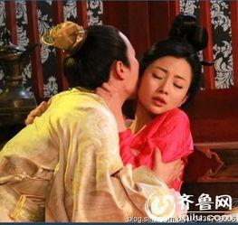 在《武则天秘史》中,殷桃饰演的武媚娘展现了出来.武媚娘勾引皇子...
