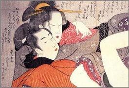 畸形色恋的感官王国 图说日本浮世绘的感官刺激