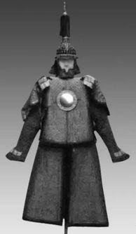 黑界知名二代白起-明定陵出土的铁铠甲,由小型铁甲片编缀成甲,承袭了古代中国铁铠甲...