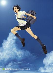 穿越时空的少女动漫海报