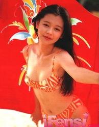 ...红女星早期青涩泳装照曝光