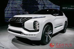 三菱汽车亮相上海车展 两款SUV概念车首秀